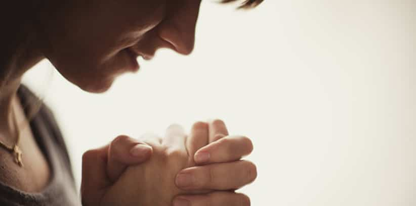 turn to prayer when things are falling apart