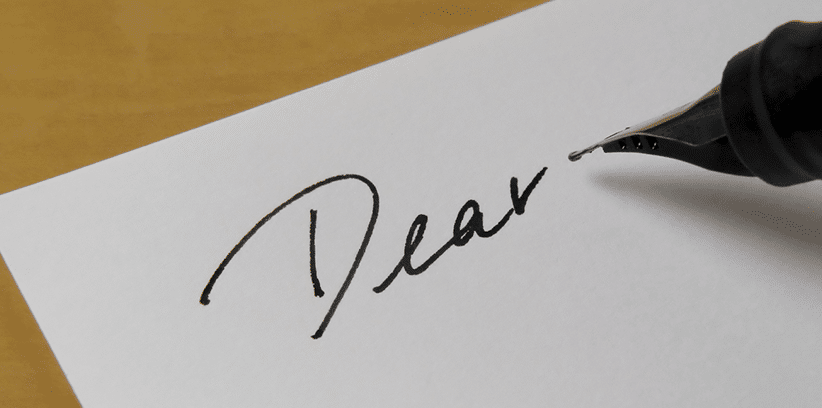 writing letters to your future spouse